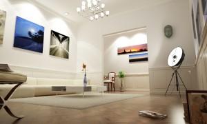 Interior light study