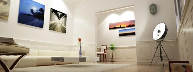 Wohnzimmer Lichtstudie