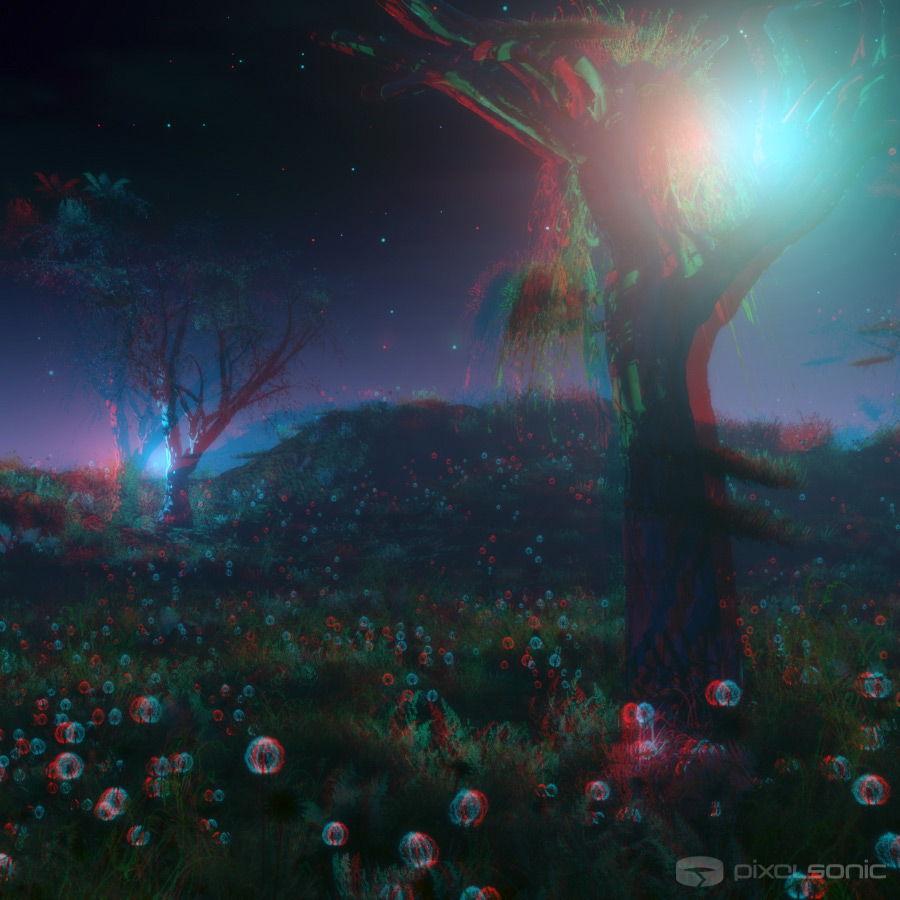Fantasy Forest - Stereoscopic 3D
